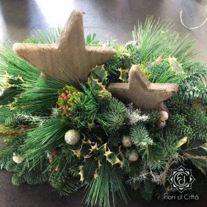 agrifoglio, pungitopo, stella di Natale, piante simbolo delle festività natalizie.