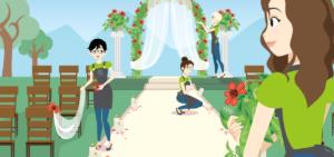 Fiori di città realizza allestimenti per matrimoni ed eventi