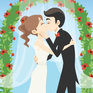 il giorno delle nozze è reso unico anche dalla personalità degli addobbi floreali