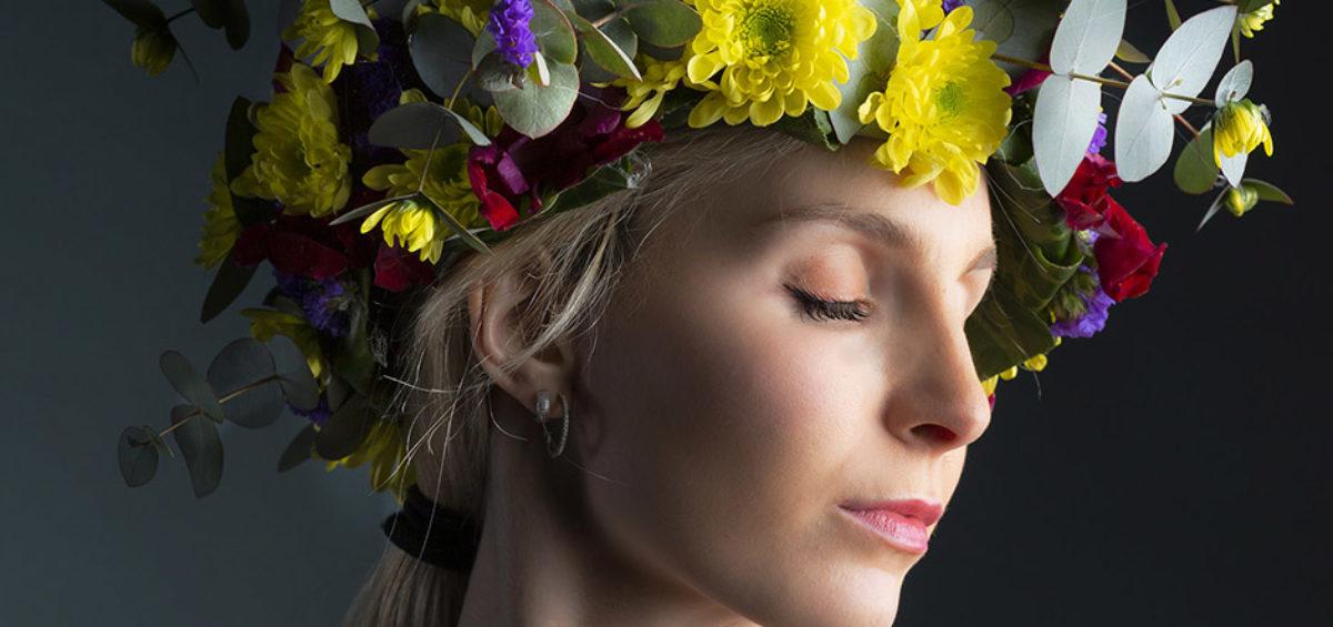 corpicapo di fiori freschi
